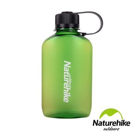 Naturehike 懷舊造型Tritan輕量便攜直飲式水壺 450ml 綠色