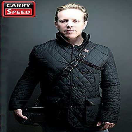 Carry Speed單眼相機減壓背帶EXTREME PRIME斜揹背帶黑色(防水Waterproof)  美國品牌