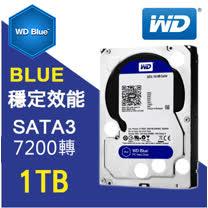 WD 藍標 3.5吋 1TB SATA3 內接式硬碟 (WD10EZEX)