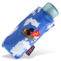 【rainstory】Super Dog(藍)抗UV迷你口袋傘