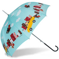 【rainstory】Super Dog(綠)抗UV自動開直骨傘