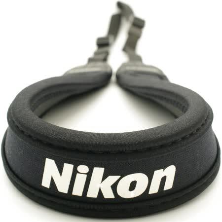 MATIN馬田NIKON相機背帶黑色(寬版,直)減壓相機背帶