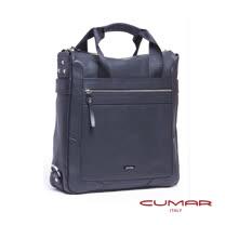 CUMAR 全皮直立手提/側背兩用包 0296-C10-01
