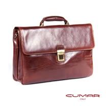 CUMAR 義大利原裝進口公事包(插扣附鑰匙) 0296-A4902