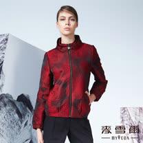 【麥雪爾】細緻織花中國風夾克外套