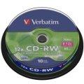 威寶 Verbatim SERL CD-RW 4X-12X 700MB 桶裝(10片)