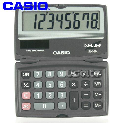 【CASIO】攜帶式8位商用計算機SL-100L