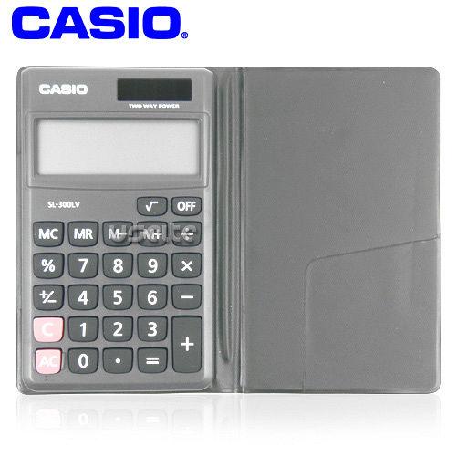 【CASIO】攜帶式8位商用計算機SL-300LV
