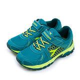 【大童】DIADORA 越野慢跑鞋 戶外探險系列 深藍綠 3666