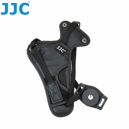 JJC皮製單眼相機手腕帶HS-N大(附安全扣目字扣.適翻轉螢幕)