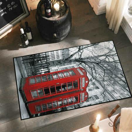 范登伯格 快乐颂 异国风情丝质地毯/地垫-电话庭60x100cm