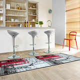 【范登伯格】浪漫之都現代絲質走道毯-巴黎街道67x240cm