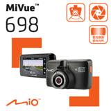 Mio MiVue™ 698 星光夜視 GPS 行車記錄器《送16G+C10兩段式後支+汽車掛勾》