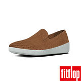 FitFlop™-(女款)F-POP™ SKATE PERF-炭褐色