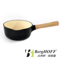 【比利時BergHOFF焙高福】Ron羅恩尊爵黑鑄鐵單把鍋18CM(1.7L)