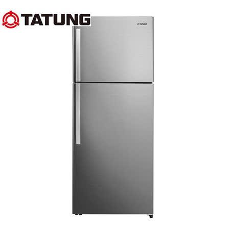 【TATUNG 大同】480L雙門變頻冰箱TR-B580VD-RS