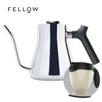 【FELLOW】STAGG 不鏽鋼測溫細口手沖壺 v1.2 (亮面) 送 送吸奇不倒杯經典馬克杯