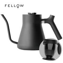 【FELLOW】STAGG 不鏽鋼測溫細口手沖壺 (黑) v1.2 送吸奇不倒杯經典馬克杯