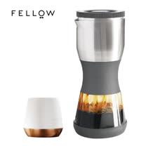 【FELLOW】買壺送杯特惠組 - 買DUO 浸泡式咖啡壺(灰) 送 JOEY 雙層陶瓷杯