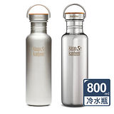 美國Klean Kanteen竹片鋼蓋不鏽鋼冷水瓶800ml
