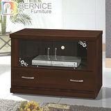 Bernice-羅密歐3尺胡桃色電視櫃