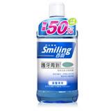 百齡Smiling 護牙周到漱口水-晶鹽薄荷(500ml加送250ml)*6入組