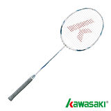 【KAWASAKI】KBD563全碳纖維羽球拍(藍)