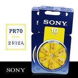 SONY PR70/S10/A10/10 空氣助聽器電池(2卡12入)
