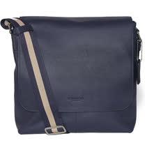【COACH】新款全皮革磁扣上掀式書包/斜背包