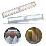 智能LED 磁吸式薄型迷你感應燈(電池式)