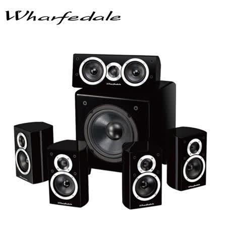 英國Wharfedale DX-1 HCP 5.1聲道家庭劇院 黑/白