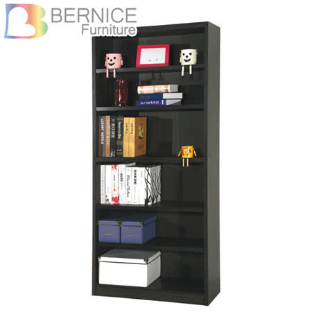 Bernice-查理2.6尺六格書櫃