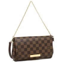 Louis Vuitton LV N41276 Favorite PM 棋盤格紋鍊條小肩背包(附皮革背帶) _預購