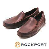 Rockport 素面無綁帶皮鞋 男鞋-棕