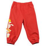 【愛的世界】 MYBEAR 純棉捉迷藏彈性束口長褲/2~3歲-台灣製-