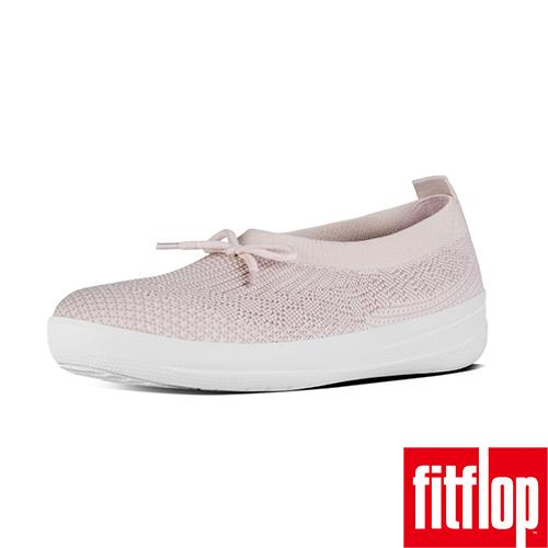 FitFlop™~ 女款 UBERKNIT™ SLIP~ON BALLERINA~螢光粉