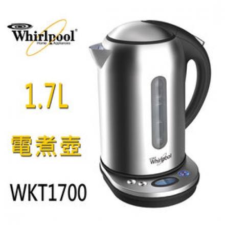 ~惠而浦 Whirlpool~ 1.7L智慧溫控快煮壺 電茶壺 WKT1700