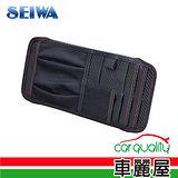 【日本SEIWA】遮陽板便利置物袋 (W914)