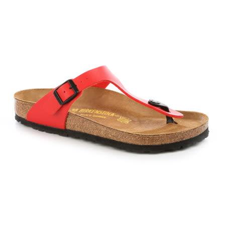 BIRKENSTOCK 043741。GIZEH吉薩 夾腳拖鞋(紅)
