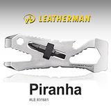 【美國 Leatherman】Piranha 二合一多功能不鏽鋼扳手/.多用途隨身工具組.開瓶器/適登山.自行車環島.露營.野外探險_831681