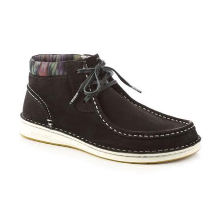 勃肯BIRKENSTOCK 408671。PASADENA帕薩迪納 長筒休閒鞋(黑)