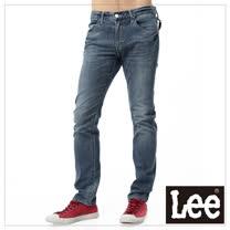 Lee牛仔褲 706 低腰合身窄管-男款(中漂藍)
