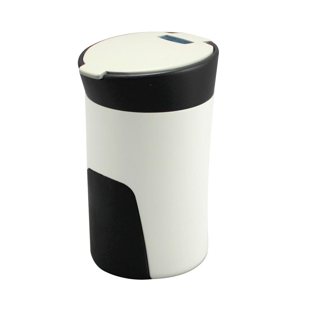~ 槌屋YAC~好握感LED煙灰缸~米色 PZ~761  汽車 收納置物 垃圾桶
