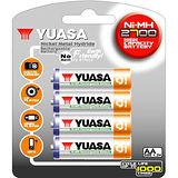 日本湯淺YUASA 鎳氫電池 3號 AA2700*4入