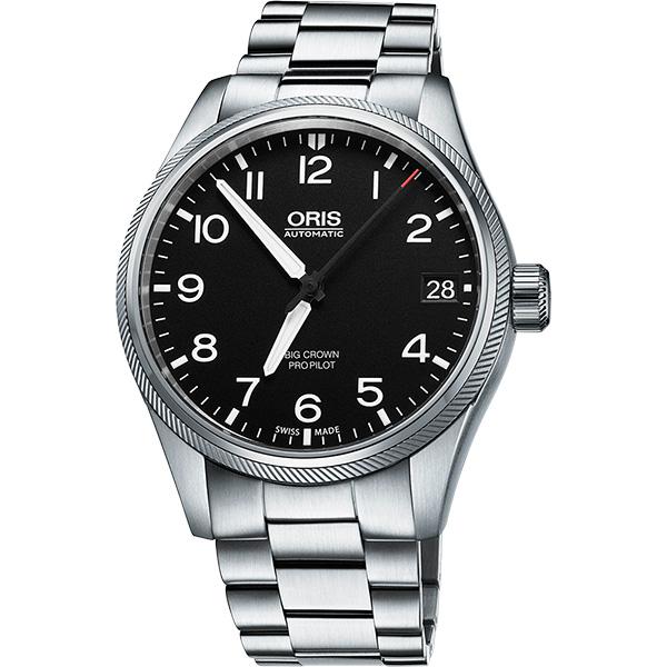 Oris Big Crown ProPilot 日期機械腕錶 0175176974164~