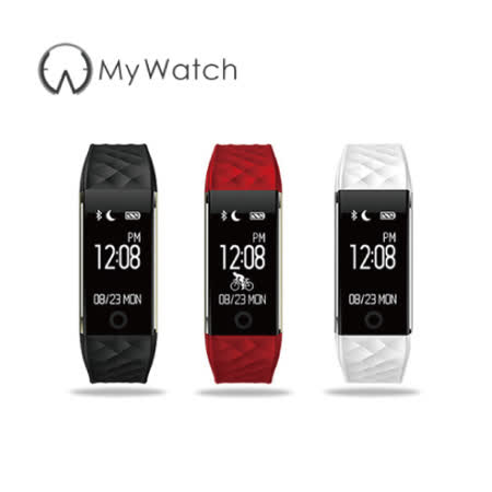 My Watch 第七代 IP67 防水心率監測運動藍牙智慧手環 S2