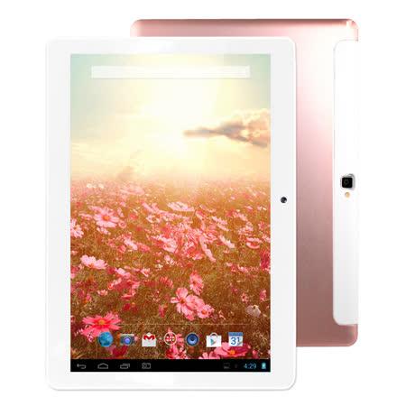 【加碼贈專屬皮套】【IS愛思】王者天下 玫瑰金限量版 10.1吋八核架構3G通話平板電腦(2G/16GB)