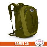 【美國 OSPREY】新款 Comet 30L 超輕多功能城市休閒筆電背包(TSA+爆音哨+可調腰帶)/適登山健行.旅遊通勤.自助旅行_橄欖綠 R