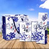 【醒茶莊】台灣杉林溪高山茶伴手禮2入組(青花瓷限定版/附提袋x1)