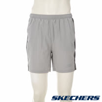 SKECHERS 男短褲 - GMPSH244GREY